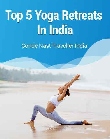 Top 5 yoga retreats in India